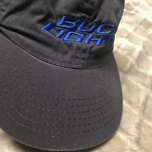 Bud Light drinking hat Velcro